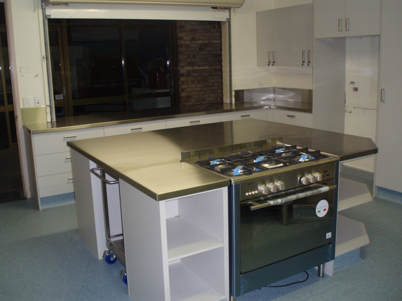 kitchens bars custom steel fabrication brisbane