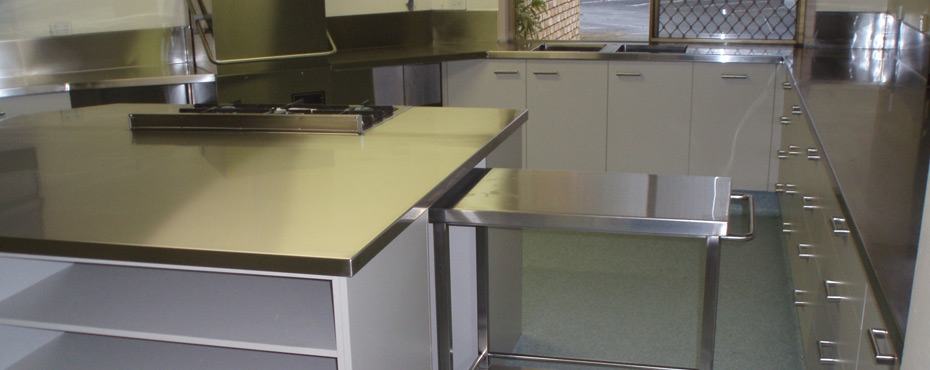 Custom steel fabrication brisbane stainless kitchens for Perfect kitchen fabrication